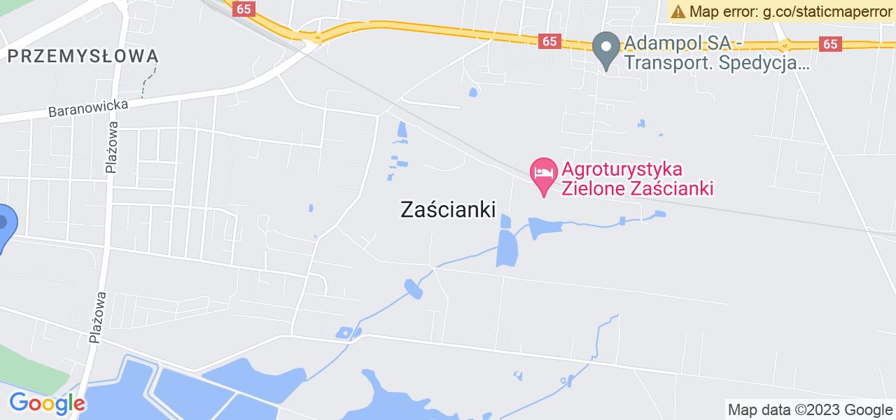 Osiedle Osiedle Przemysłowa w Zaściankach – w tych punktach ekspresowo wyślesz turbinę do autoryzowanego serwisu