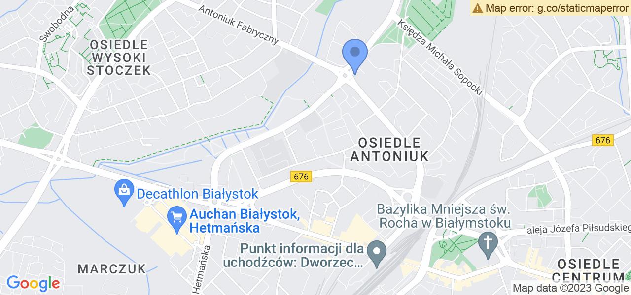 Osiedle Osiedle Przyjaźń w Białymstoku – w tych punktach ekspresowo wyślesz turbinę do autoryzowanego serwisu