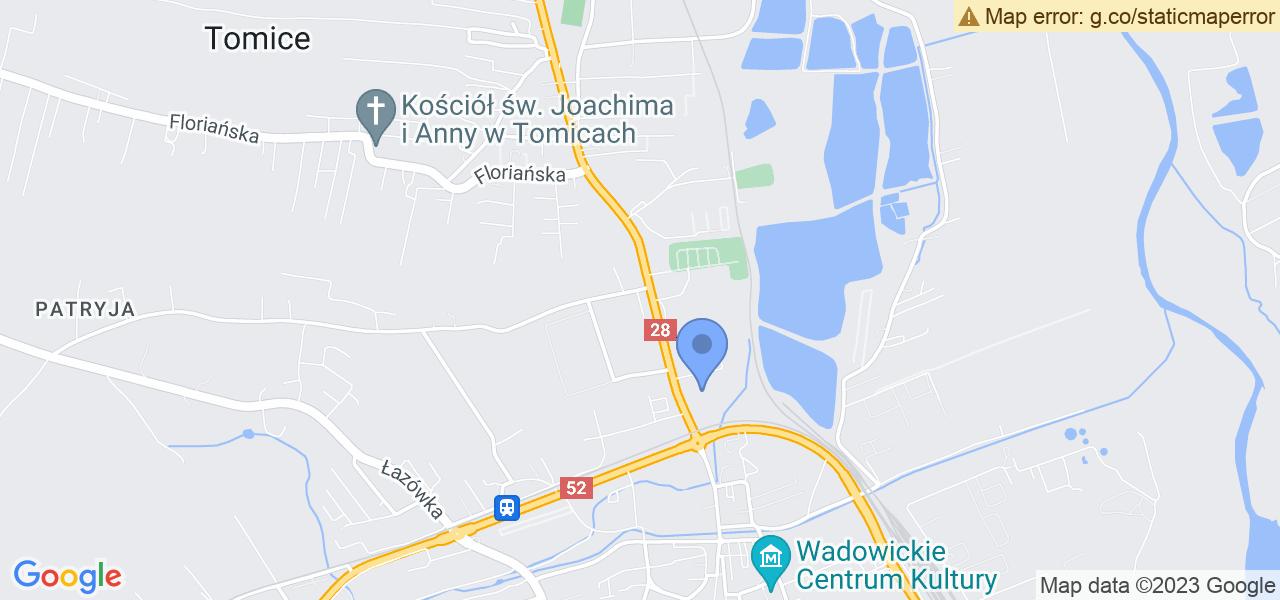 Osiedle Osiedle Słoneczne w Wadowicach – w tych punktach ekspresowo wyślesz turbinę do autoryzowanego serwisu