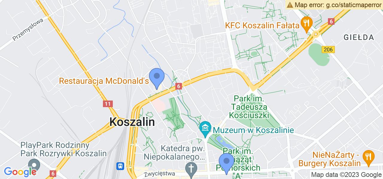 Osiedle Osiedle Tysiąclecia w Koszalinie – w tych punktach ekspresowo wyślesz turbinę do autoryzowanego serwisu
