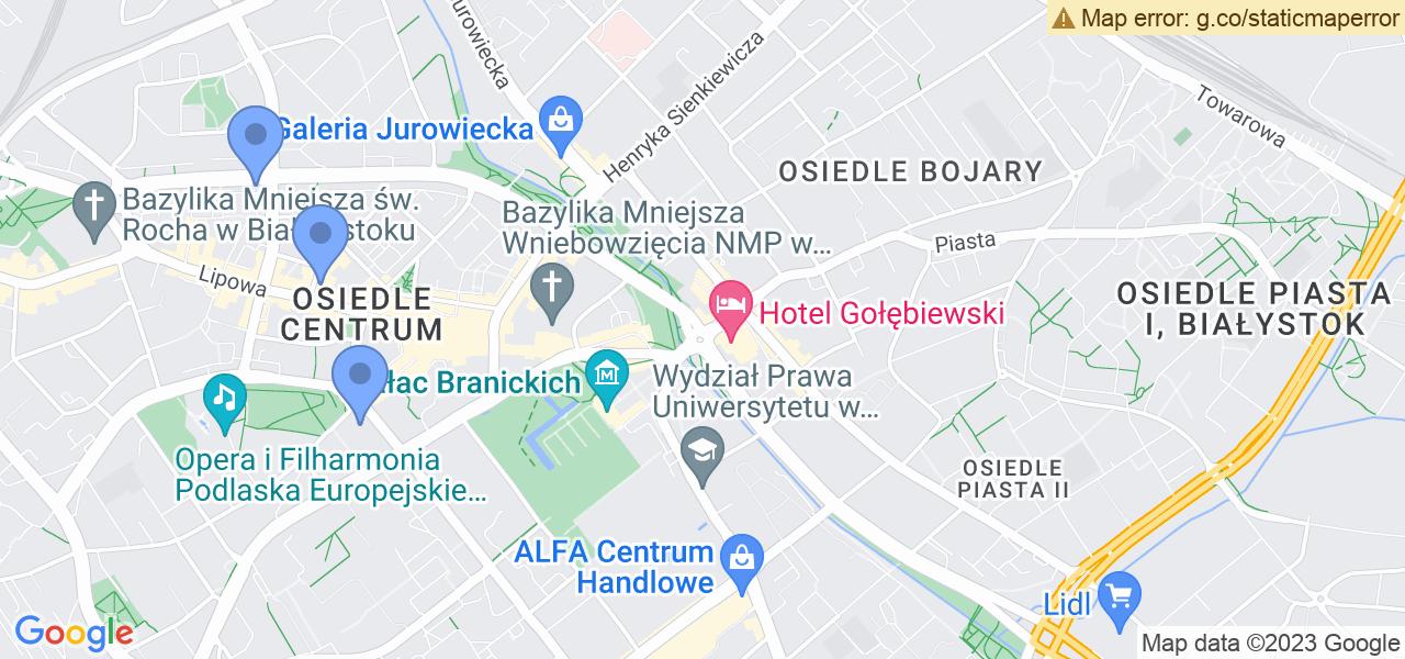 Osiedle Osiedle Waryńskiego w Białymstoku – w tych punktach ekspresowo wyślesz turbinę do autoryzowanego serwisu