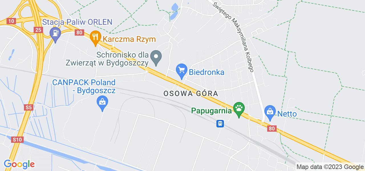 Osiedle Osowa Góra w Bydgoszczy – w tych punktach ekspresowo wyślesz turbinę do autoryzowanego serwisu