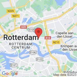 Google map of Palliatief centrum De Regenboog, Rotterdam