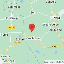 Google map of Het Gevangenismuseum, Veenhuizen