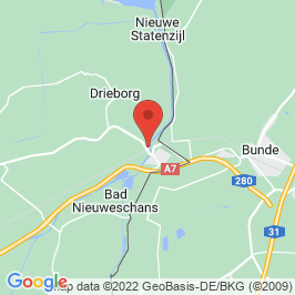 Google map of Locomotiefremise Bad Nieuweschans