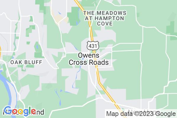 Owens Cross Roads, AL
