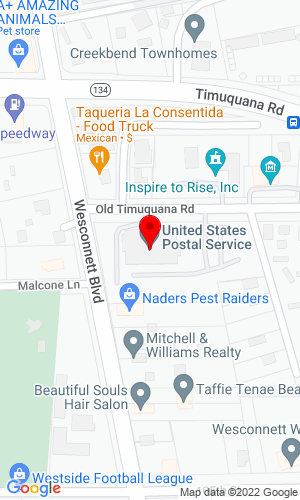 Google Map of DIXIE AUCTION CO P O BOX 60546, JACKSONVILLE, FL, 32236