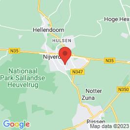 Google map of Kantoorgebouw Nederlandse Stoombleekerij, Nijverdal
