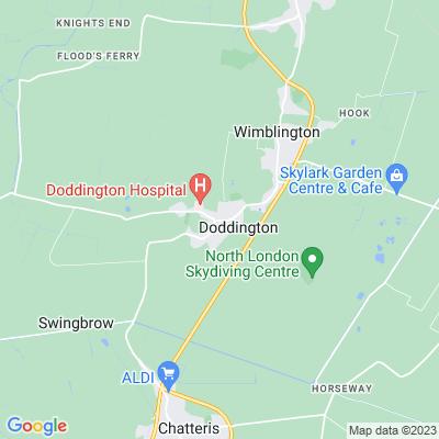 Alpha Cottage, Doddington Location