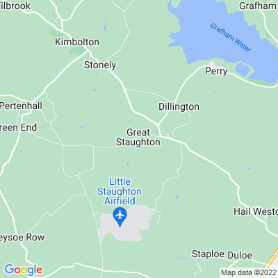 Manor, The, Great Staughton Location