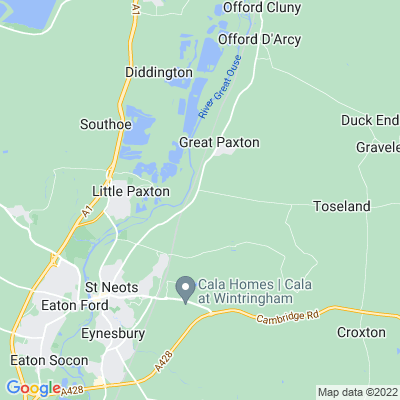 Paxton Hill House Location
