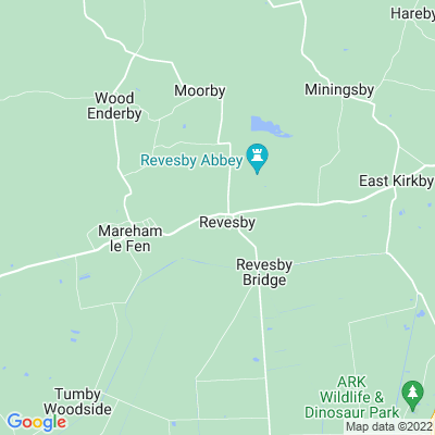 Revesby Abbey Location