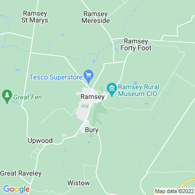 Ramsey Abbey House Location