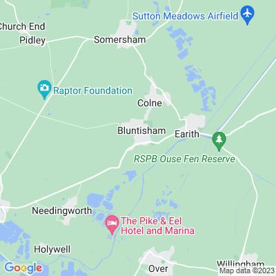 Bluntisham House Location