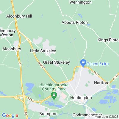 Wychwood, Great Stukeley Location