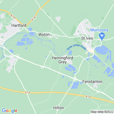 Manor, The, Hemingford Grey Location