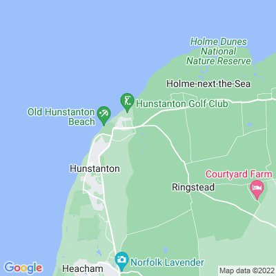 Hunstanton Hall Location
