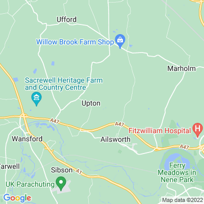 Upton Manor House Location