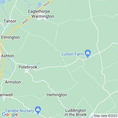 Ashton Wold Location