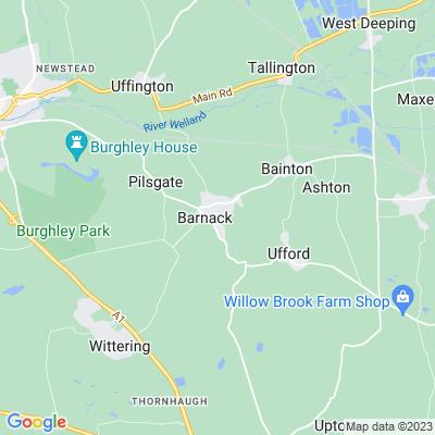 Kingsley House, Barnack Location