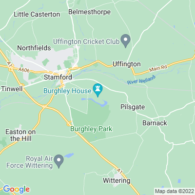 Burghley House Location