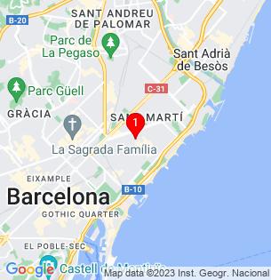 Google Map of PERE IV 208, Barcelona, BARCELONA, Spain