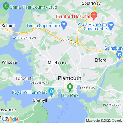 Central Park, Plymouth Location