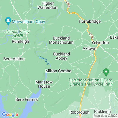 Buckland Abbey Location