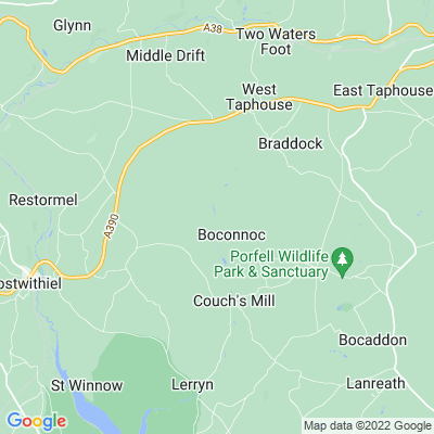 Boconnoc Location