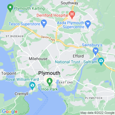 Thorn Park, Plymouth Location