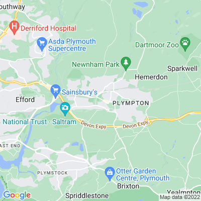 Plympton House Location