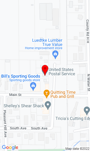 Google Map of Auction Specialists PO Box 100, Lomira, WI, 53048
