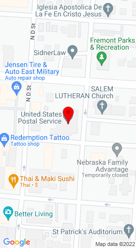 Google Map of Jack Nitz & Associates PO Box 1522, Freemont, NE, 68026