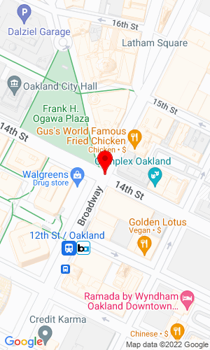 Google Map of Ricker Machinery PO Box 23504, Oakland, CA, 94509