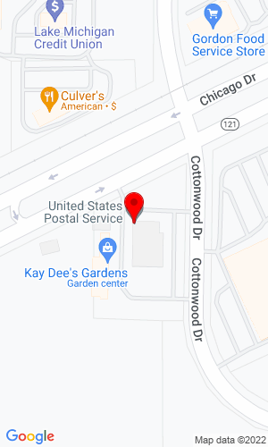 Google Map of AggTech PO Box 408 , Jenison , MI, 49429