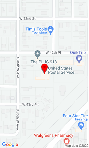 Google Map of Oil & Gas Advisor PO Box 52572, Tulsa, OK, 74152