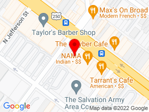Google Map of Better Housing Coalition