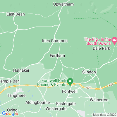 Eartham House Location