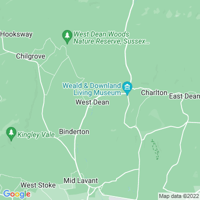 West Dean Location