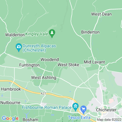 West Stoke House Location