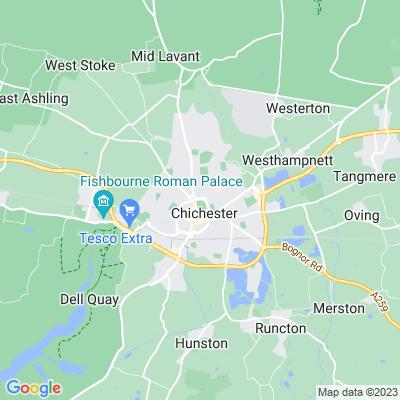 Priory Park, Chichester Location