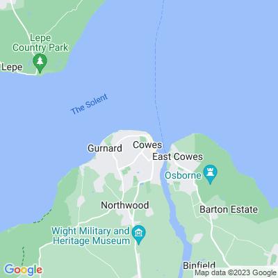 Northwood Park, Cowes Location