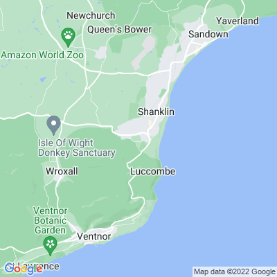 West Hill, Shanklin Location