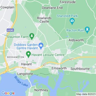 South Leigh Park Location