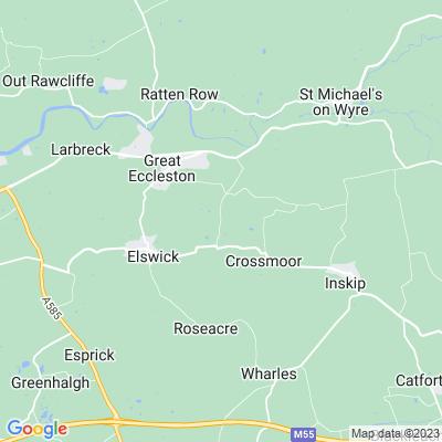 Elswick Manor Location