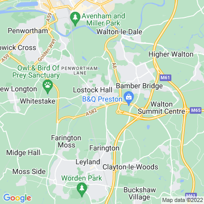 Lostock Hall Location