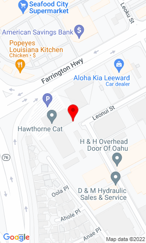 Google Map of Pacific Machinery, Inc. 94-025 Farrington Hig, Waipahu, HI, 96797