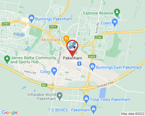 Pakenham google map