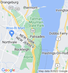 Palisades NY Map