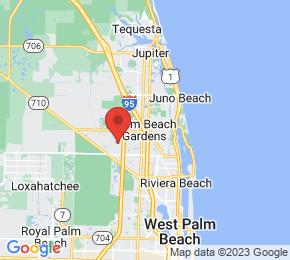 Job Map - Palm Beach Gardens, Florida  US